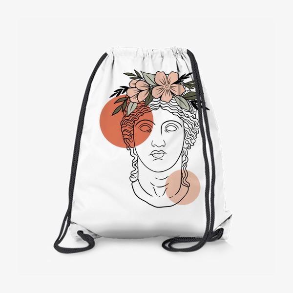Рюкзак «Античная статуя/ абстракция»