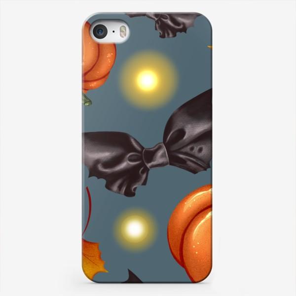 Чехол iPhone «Тыквы и бантики»