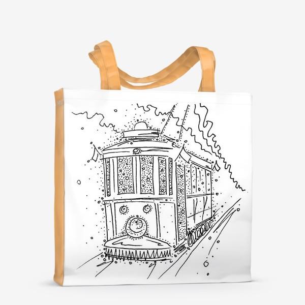 Сумка-шоппер «Трамвайчик.»
