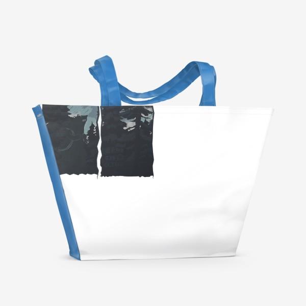 Пляжная сумка «Alone»