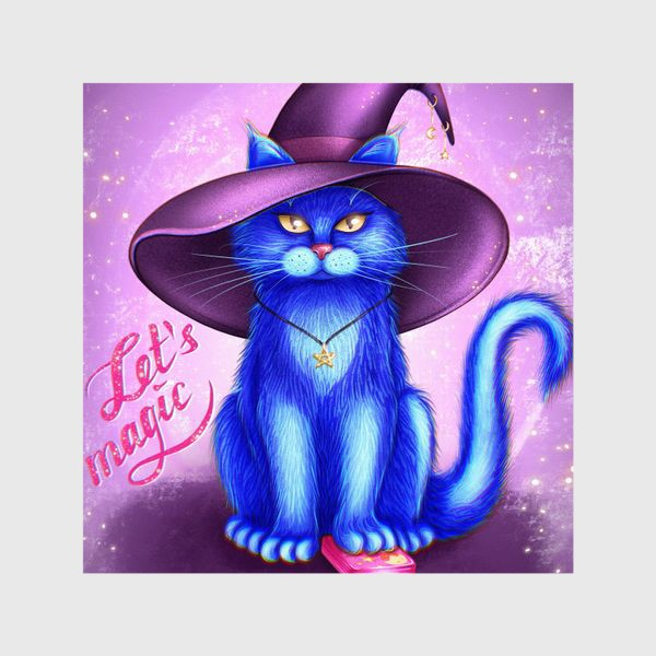 Шторы «Котик предсказатель»