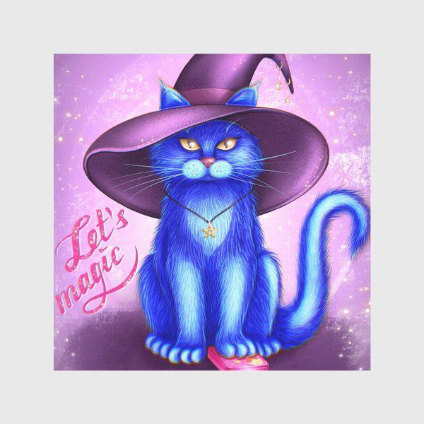 Скатерть «Котик предсказатель»