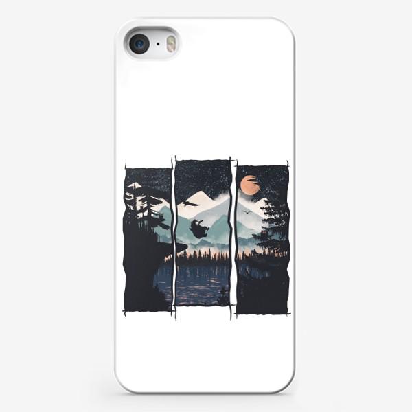 Чехол iPhone «Night Jump»
