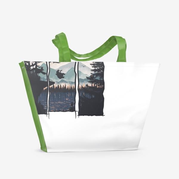 Пляжная сумка «Night Jump»