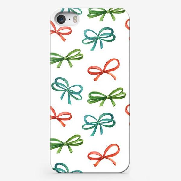Чехол iPhone «Ленточки-бантики»