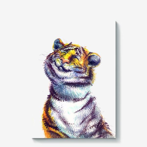 Холст «Тигр »