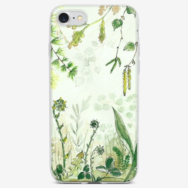 Чехол iPhone «Тайный сад»