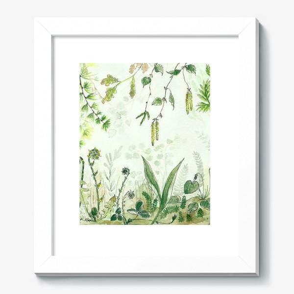 Картина «Тайный сад»
