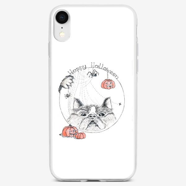 Чехол iPhone «Всем счастиливого Хэллоуина!»