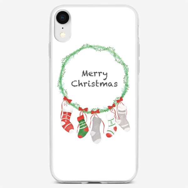 Чехол iPhone «Счастливого Рождества »
