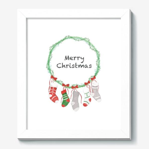 Картина «Счастливого Рождества »