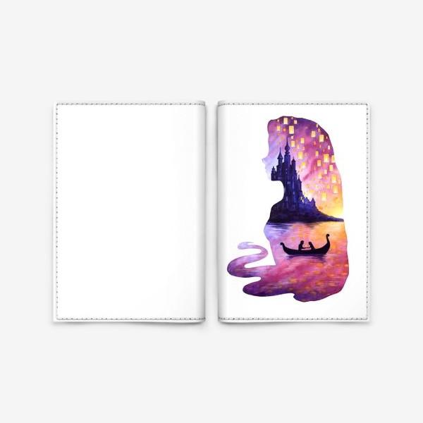 Обложка для паспорта «принцесса Рапунцель»