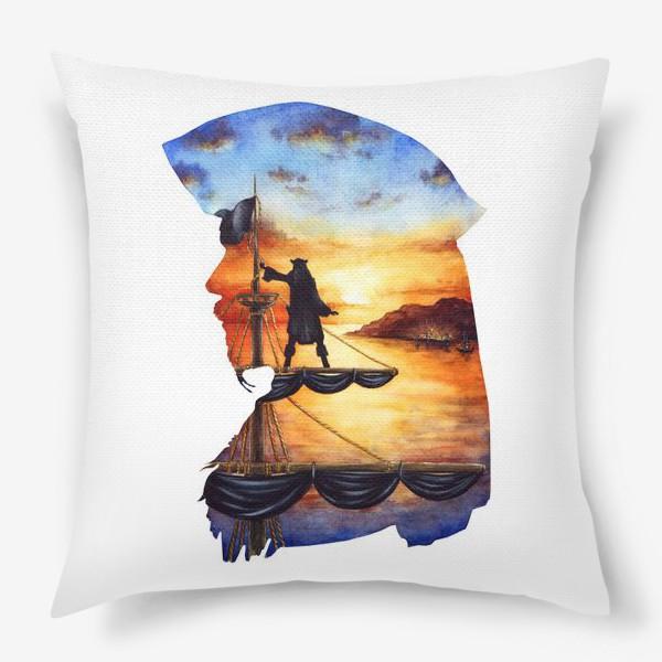 Подушка «Капитан Джек воробей»