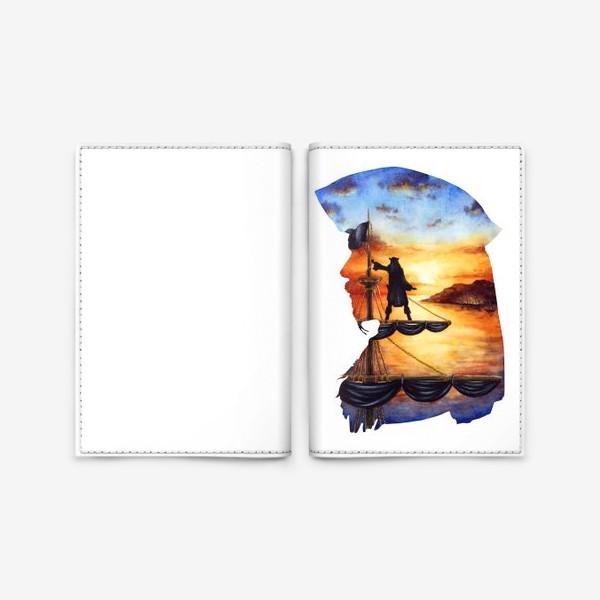 Обложка для паспорта «Капитан Джек воробей»