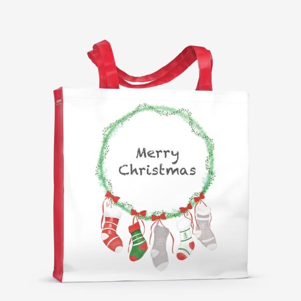 Сумка-шоппер «Счастливого Рождества »