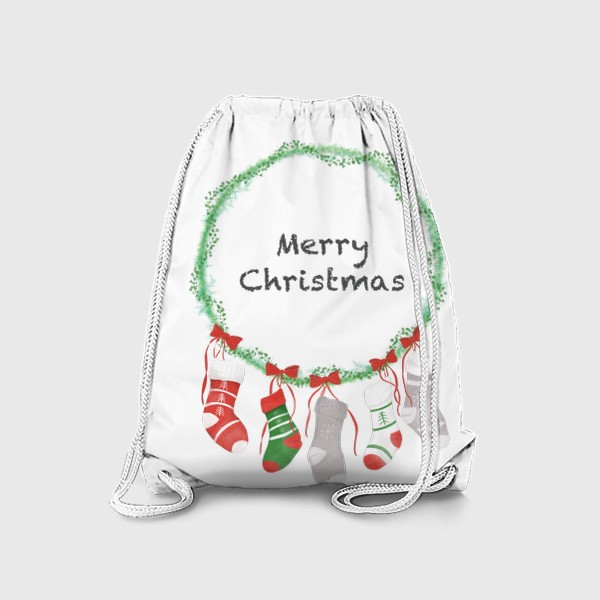 Рюкзак «Счастливого Рождества »