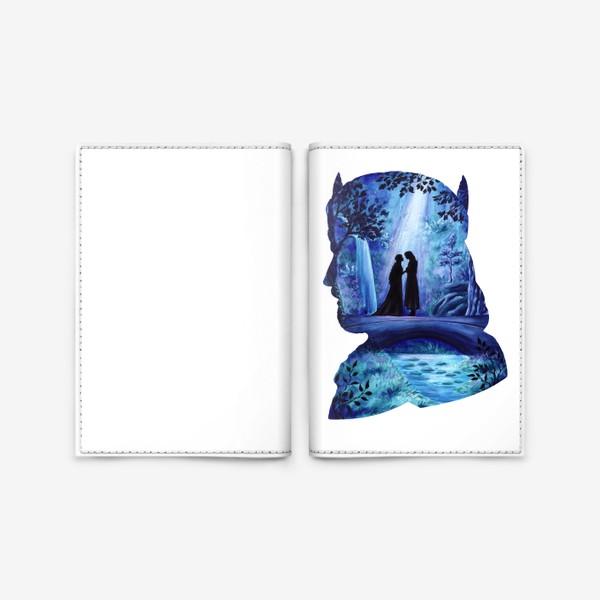 Обложка для паспорта «Властелин колец Арагорн и Арвен»
