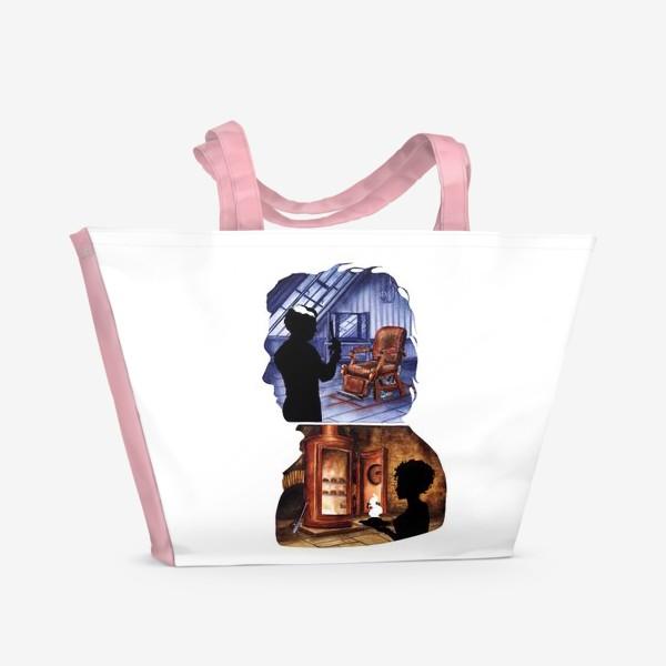 Пляжная сумка «Цирюльник Тодд и Ловетт»