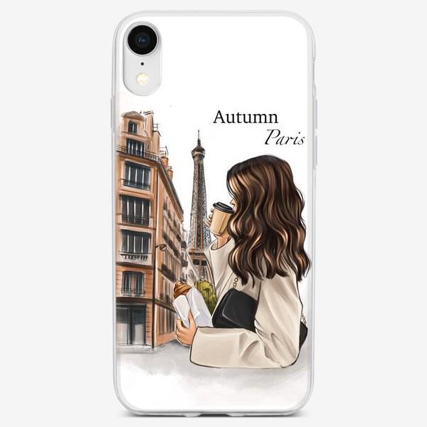 Чехол iPhone «Осень в Париже»