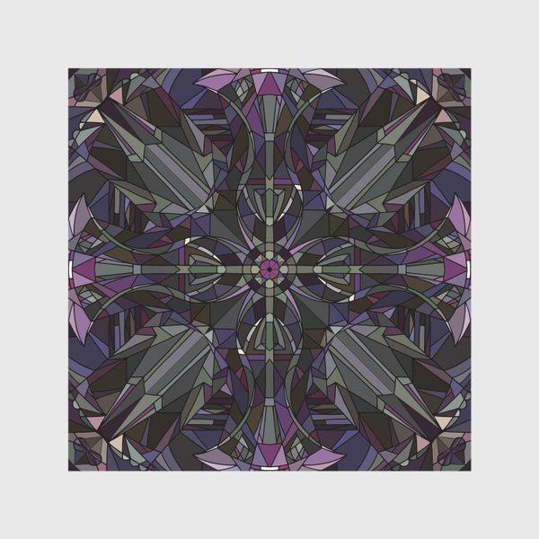 Скатерть «Флористический геометрический орнамент»