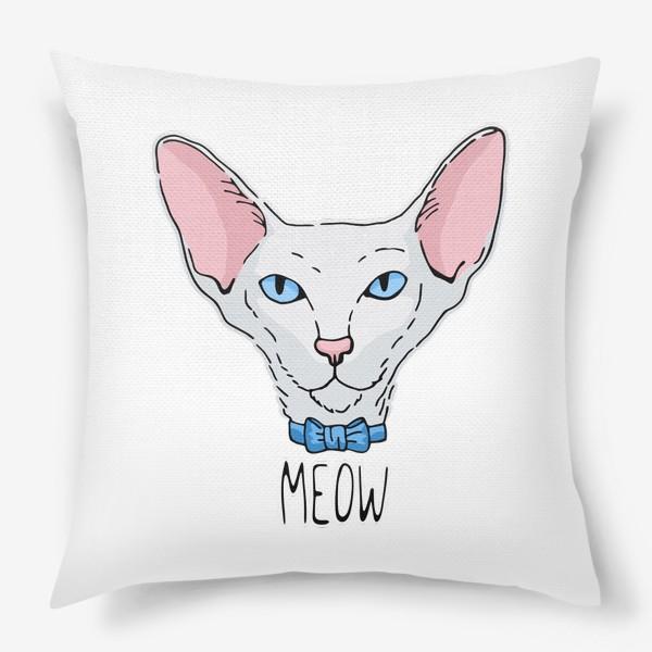 Подушка «Мистер Кот»