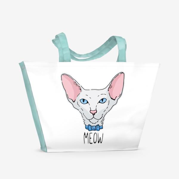 Пляжная сумка «Мистер Кот»