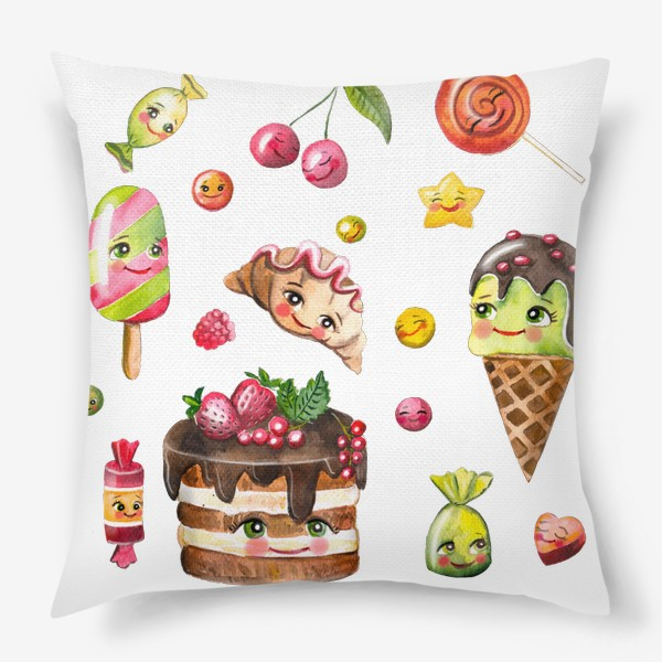 Подушка «Вкусняшки»