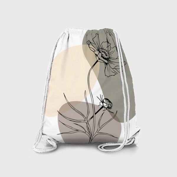 Рюкзак «Абстракция с космеей»