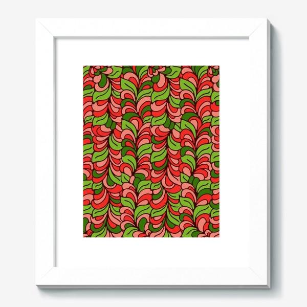Картина «Бесшовный абстрактный растительный паттерн»