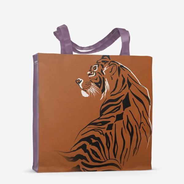 Сумка-шоппер «Тигр. Год тигра 2022»