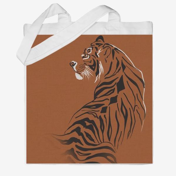 Сумка хб «Тигр. Год тигра 2022»