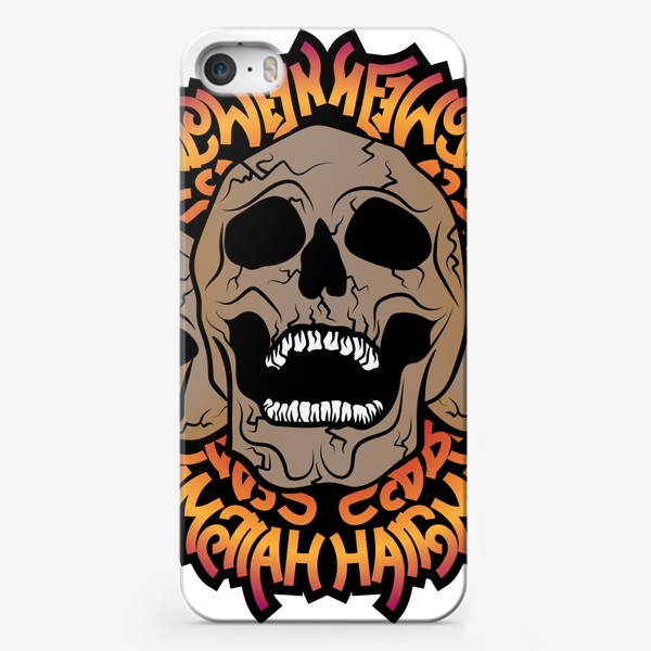 Чехол iPhone «Halloween skulls»