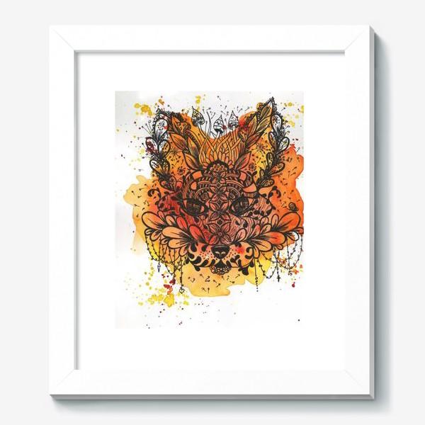 Картина «Огненная лиса»