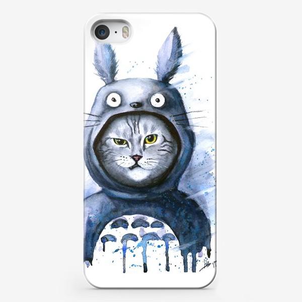 Чехол iPhone «Кот Тоторо»