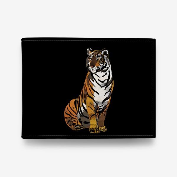 Кошелек «Тигр. Год тигра 2022. Акварель»