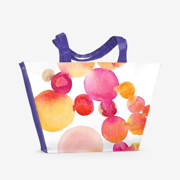 Пляжная сумка «Pink Bubblegum»