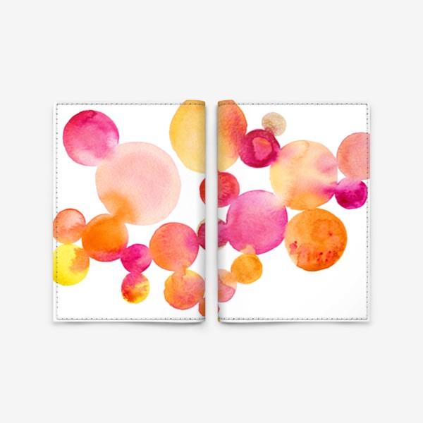 Обложка для паспорта «Pink Bubblegum»