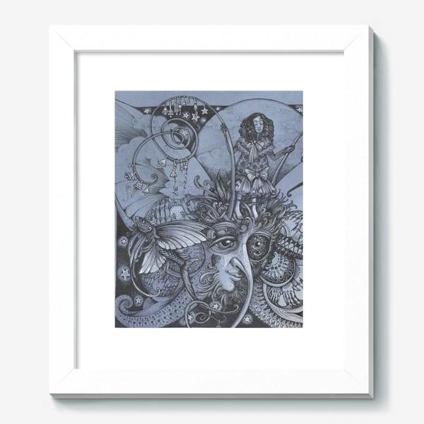 Картина «Голубая бабочка»