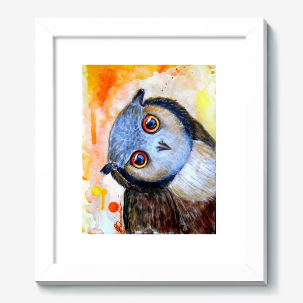 Картина «Любопытная сова»