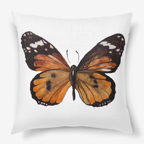 Подушка «Тропическая бабочка»