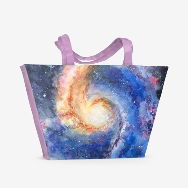 Пляжная сумка «Космос. Галактика»