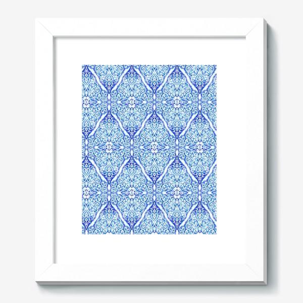 Картина «Морозное кружево»