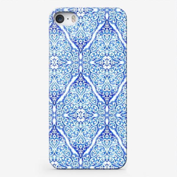 Чехол iPhone «Морозное кружево»