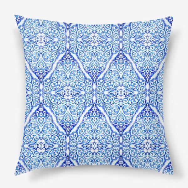 Подушка «Морозное кружево»