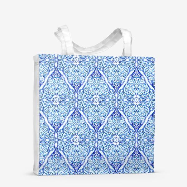 Сумка-шоппер «Морозное кружево»