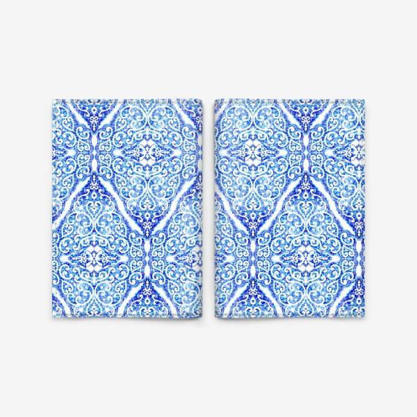Обложка для паспорта «Морозное кружево»