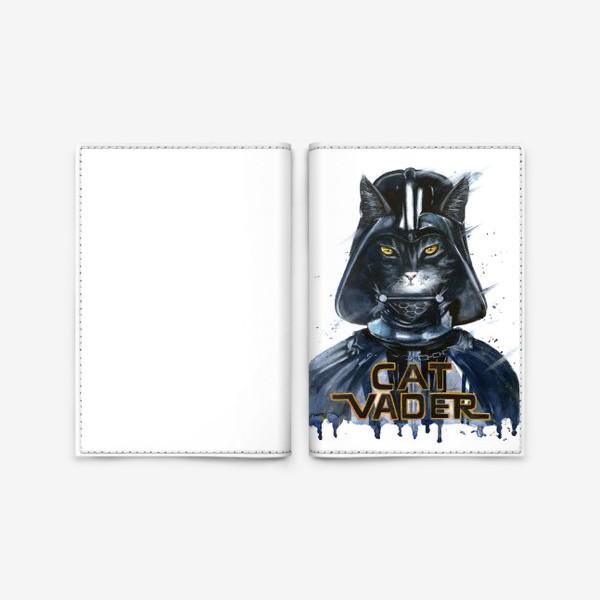 Обложка для паспорта «Кэт Вэйдэр»