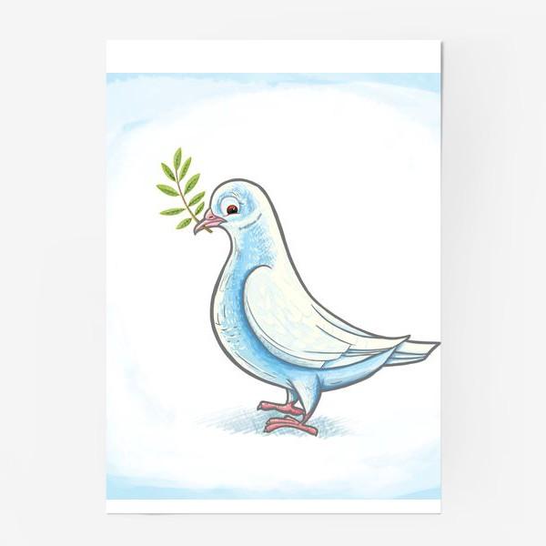 Постер «Голубь»