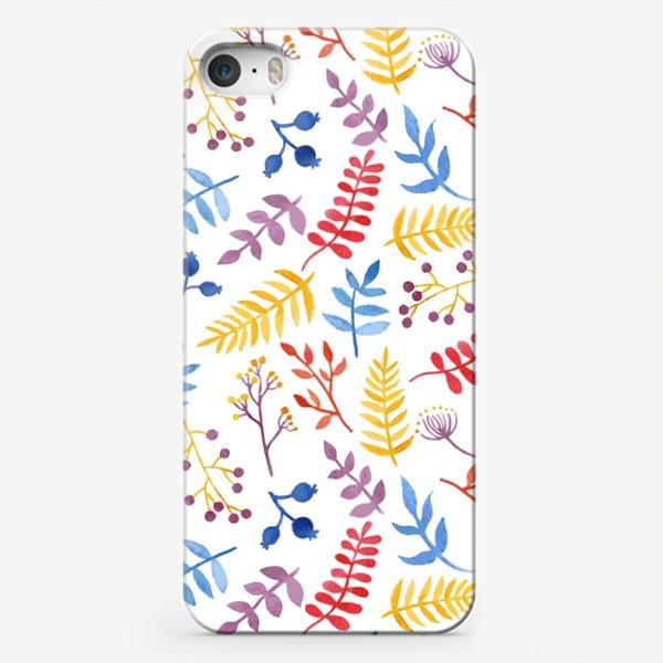 Чехол iPhone «Акварельная Весна»