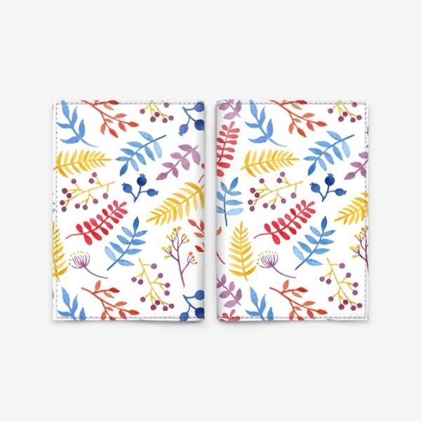 Обложка для паспорта «Акварельная Весна»